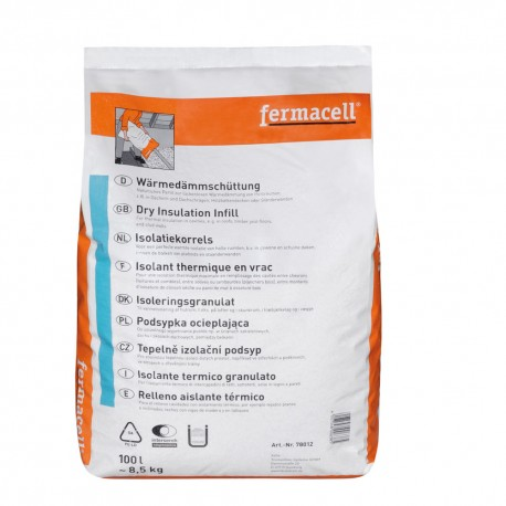 FERMACELL GRANULES ISOLATION 8KG 100 L 78012
