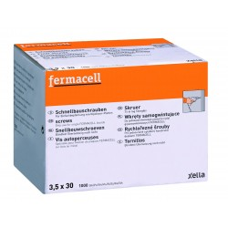 FERMACELL SNELBOUWSCHROEF 3.5 X 30 1000P